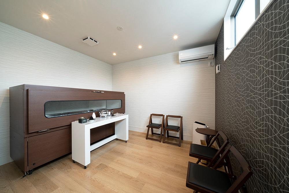 個室の安置施設